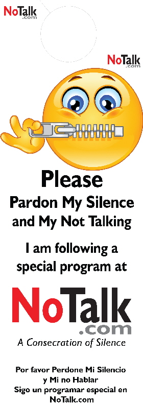 no talk single side door hanger w cutout 2013-11-02